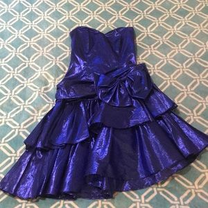 80's Styled Prom Dress